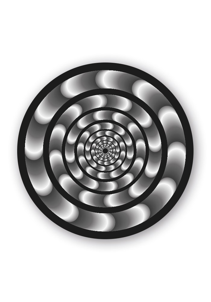 HYPNOTIC WHEEL STICKERS