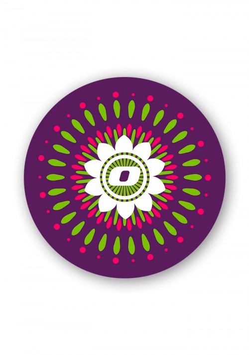 MANDALA WHEEL STICKERS